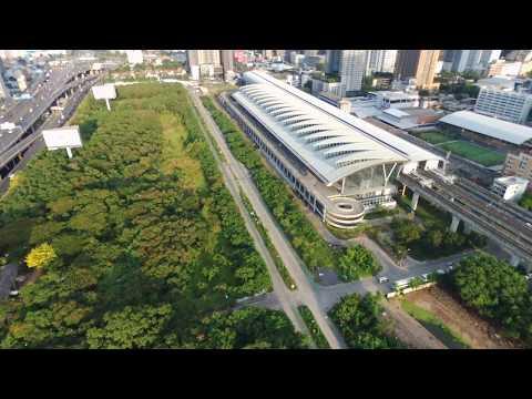 Bangkok Rama 9 area (2/2) | Parrot Bebop 2 Power [RAW footage]