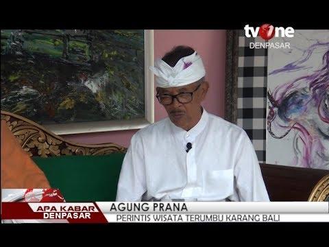 Apa Kabar Denpasar : Agung Prana, Perintis wisata Terumbu Karang Bali