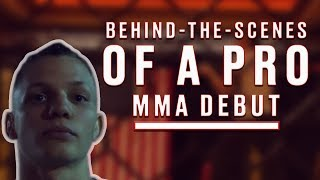 Behind-The-Scenes Of A Pro MMA Debut: Andrew Richardson - Full Documentary