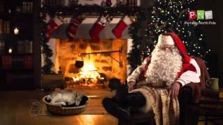 Portable North Pole: Holiday Screensaver / Père Noël Portable: Écran de veille de Noël