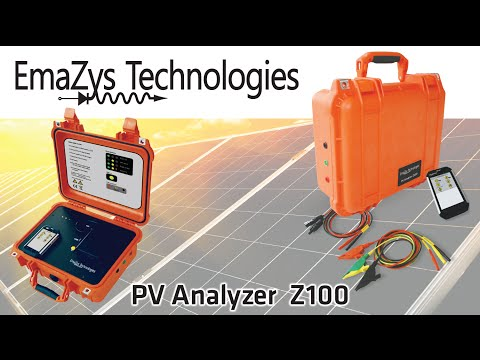 Solar Photovoltaic (PV) Test Instrument - Emazys Technologies Z100