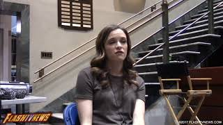 Why Is Killer Frost Evil? We Ask Danielle Panabaker | Flash Season 4
