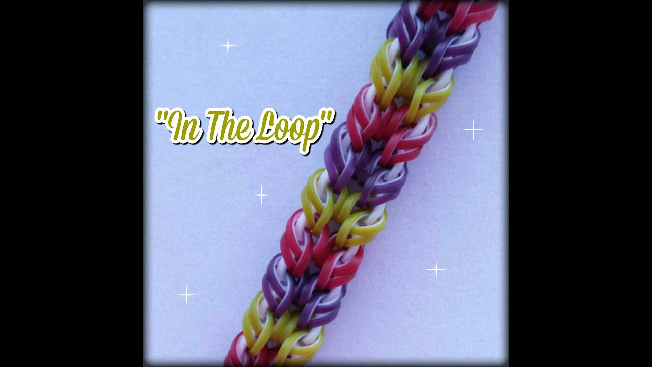 how to make loop bracelets without loom