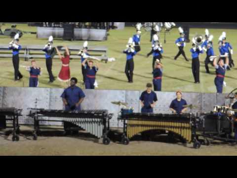 Northside Christian School Royal Ambassadors Marching Band 2016