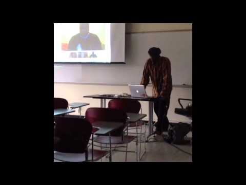 Hip-Hop In The Classroom, DJ Davey D, San Francisco State College, 3/20/13
