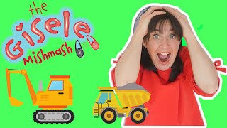 Video For kids | Playing with TRUCKS | Learning about Trucks| TRUCKS FOR TODDLERS AND KIDS