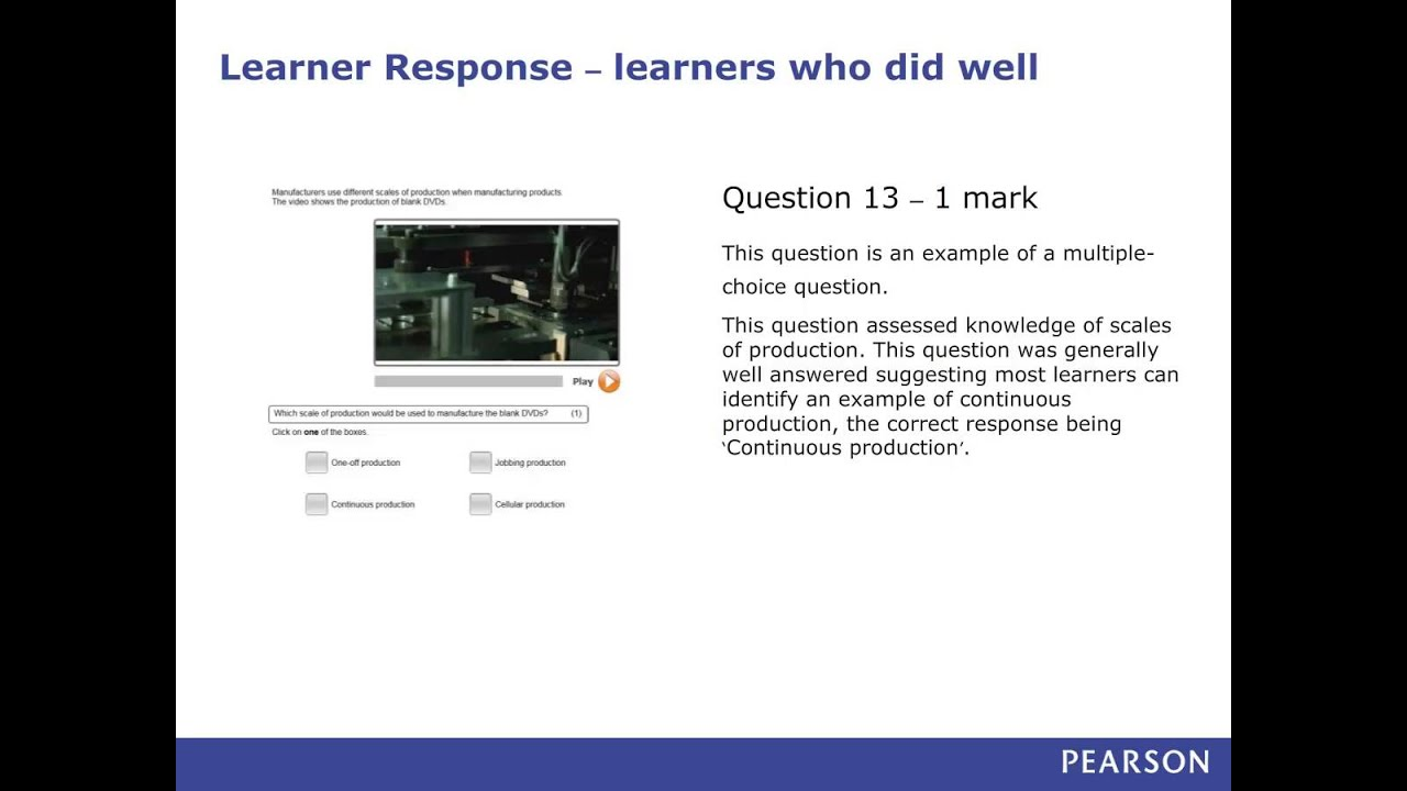 BTEC Level 2 Firsts (NQF) in Engineering: Feedback on June ...