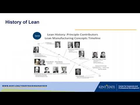 Lean Overview – Concepts and Tools that Drive Continuous Improvement
