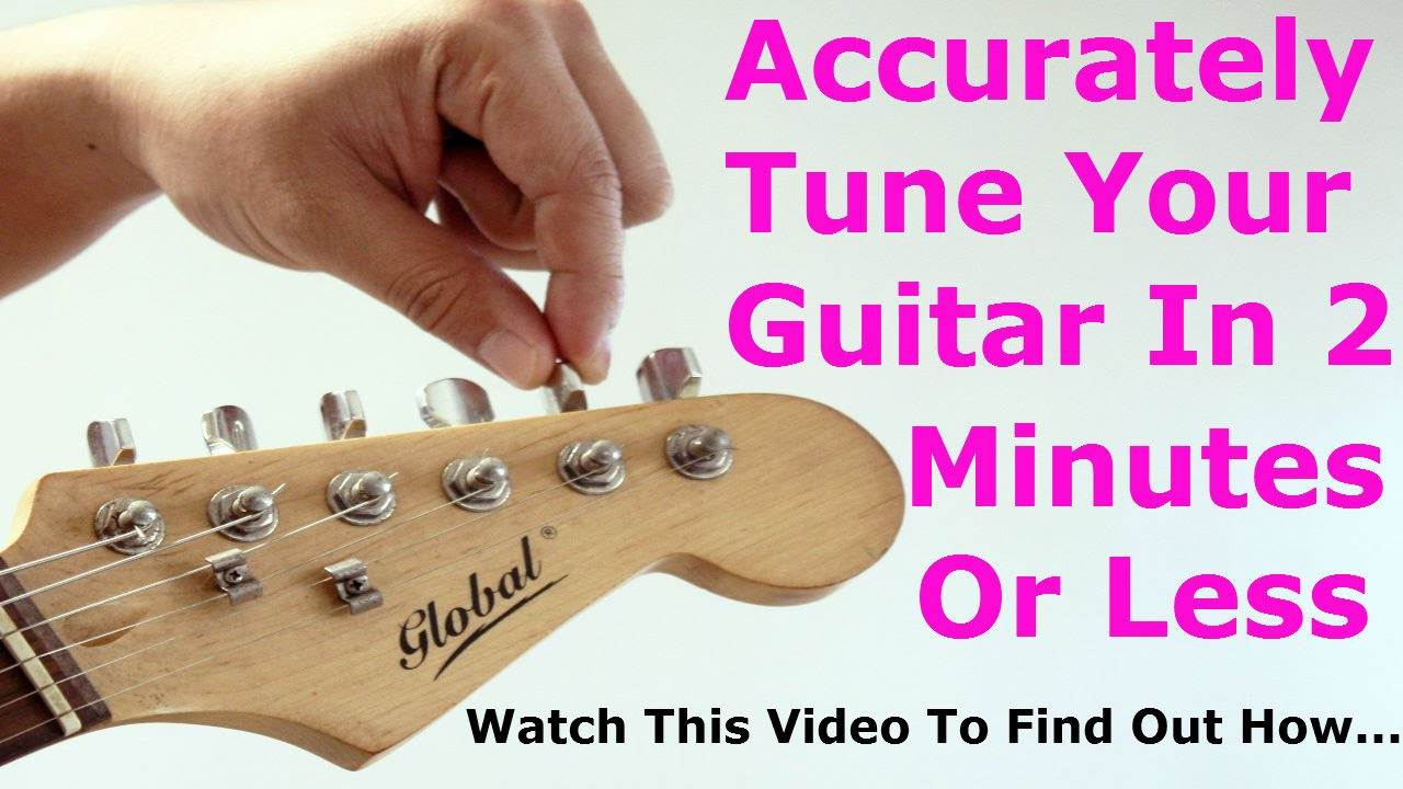 guitar tuner app 2 minute tuning for electric acoustic guitars youtube. Black Bedroom Furniture Sets. Home Design Ideas