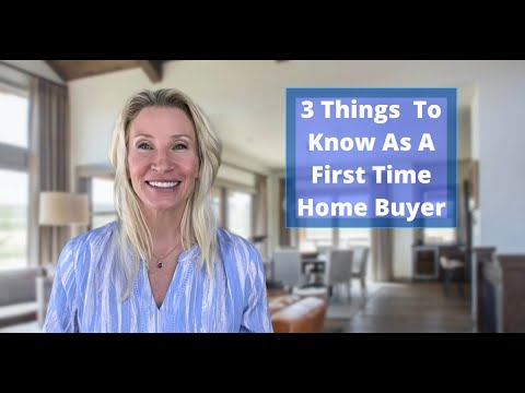 3 Things To Know When Buying Your First Home!!