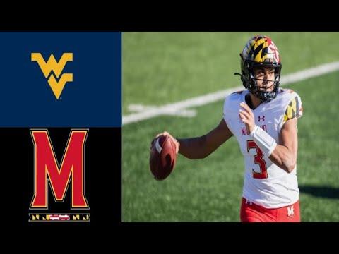 West Virginia vs Maryland Football Full Game Highlights | Week 1 | Sept 4, 2021 |