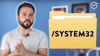 PASTA SYSTEM 32: o que acontece se você DELETAR!