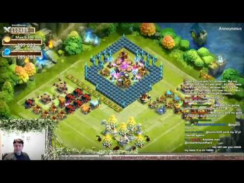 Castle Clash - Helping Others Rebuild Their Base & General Base Tips