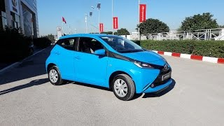 Actuoto: Essai De La Toyota Aygo, 1.0 69 Ch Din, à Tunis