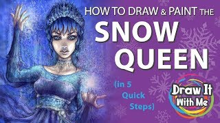 How to Draw the Snow Queen