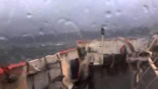 Gourock/Dunoon ferry during Hurrican Bawbag pt 2