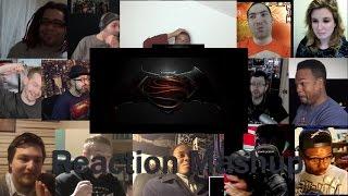 Batman v Superman: Dawn of Justice -  Final Trailer REACTION MASHUP
