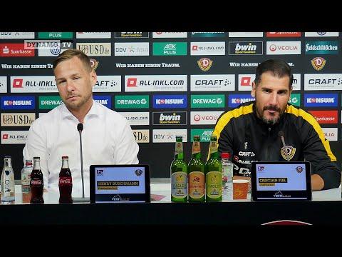 1. Runde DFB-Pokal | TUS - SGD | Pressekonferenz vor dem Spiel