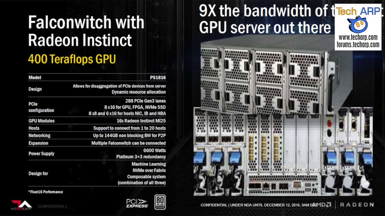 The First Radeon Instinct Servers Revealed!