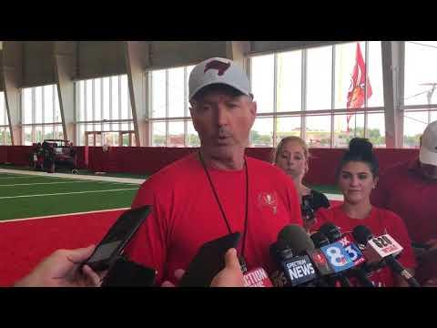Sports Life With Jay Recher - VIDEO : Bucs Head Coach Dirk Koetter Minicamp (6/13/18)