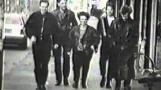 The Scene, Rauw Hees Teder, clip gemaakt door leerlingen van St  Joost Academie in 1989