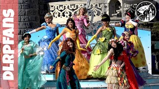 Princess Team Pirates and Princesses festival in 4K at Disneyland Paris