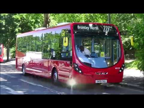 (FRV) London General Route 227: Crystal Palace - Bromley North | WS129