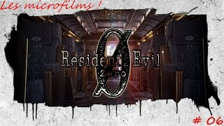 Let's Play RESIDENT EVIL 0 - Episode 06 : Les microfilms !