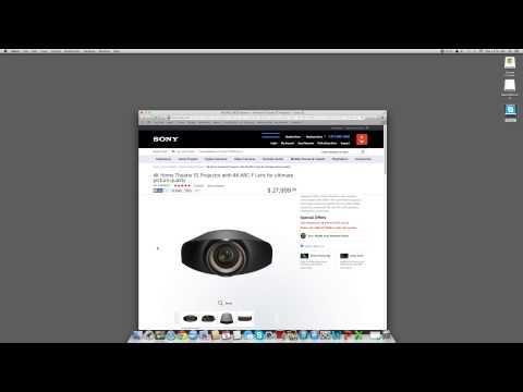 Sony VPLVW1100ES 4K Projector, My View