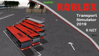 Transport Simulator 2019 Bus R NET Line 56 Zaandam Centrum Roblox