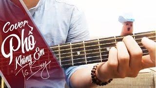 Phố Không Em - Thái Đinh | Guitar cover by Trung