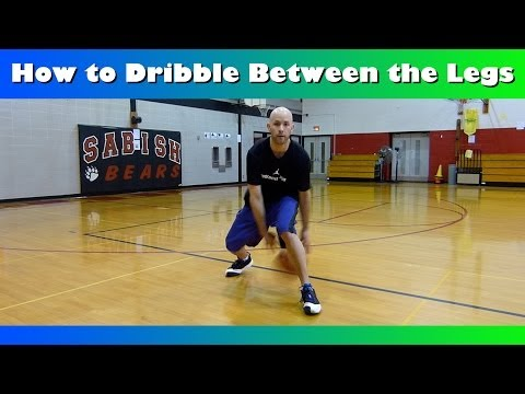 How To Dribble Between the Legs Crossover Tutorial! Basketball Moves For Beginners