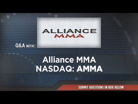 Alliance MMA Presentation at RedChip's April 2017 Conference