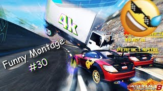 Asphalt 8 | Funny Montage #30 | on 4000 subscribers