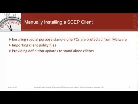 How to Perform a Manual System Center Endpoint Protection