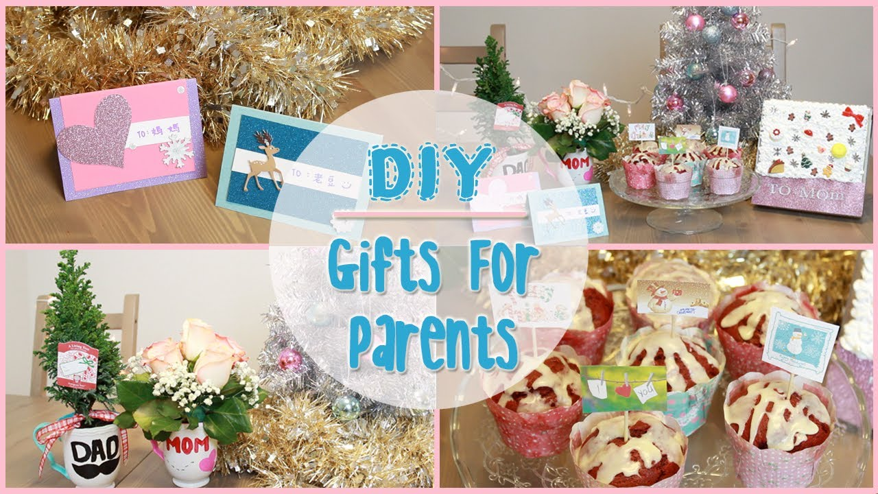 Christmas Homemade Gifts Diy Holiday Gift Ideas For Parents Ilikeweylie