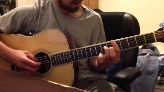 Little Martha by the Allman Brothers. Two guitars arranged for one.
