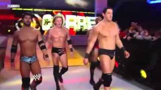 wwe the corre nexus new team of wade barrett new theme song