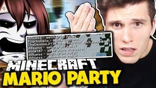 WIESO IST MAN SO ASOZIAL?! & DER AFFENTANZ 2.0 ✪ Minecraft Mario Party mit GermanletsPlay