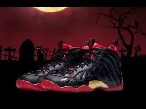 Nike Foamposite Vampire Lil Posite Vamposite Sneaker Review & More  Halloween Shoes