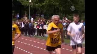 104-летний бегун установил рекорд Европы (новости)