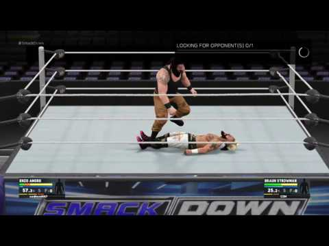 WWe 2k17 career