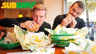 Kan vi äta upp ALLT på Subways meny??