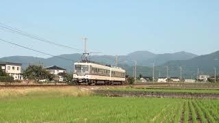富山地鉄14760形14761F若栗~栃屋通過