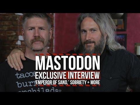 Mastodon Talk 'Emperor of Sand' + Bill Kelliher's Sobriety