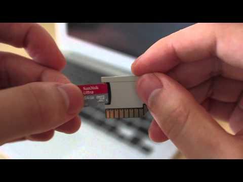 Tarjetas SD, una opción poco conocida de almacenamiento para tu Mac