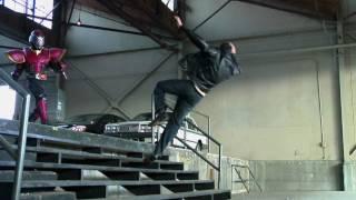Kamen Rider season 1 stunt reel