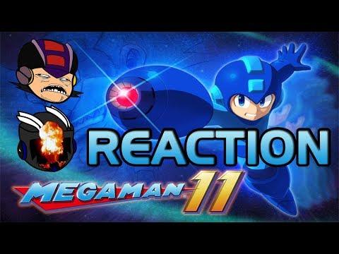 Mega Man 11 Reveal Trailer - SR & TGP's Reaction + Chat! |