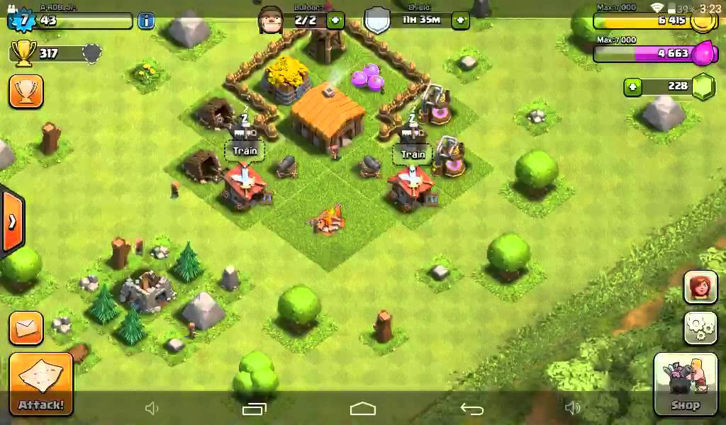 Best Th 2 Base Coc 2