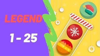 Bubble Sort Color Puzzle Game All Legend Levels 1-25 Walkthrough